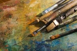 Walnussöl für die Malerei